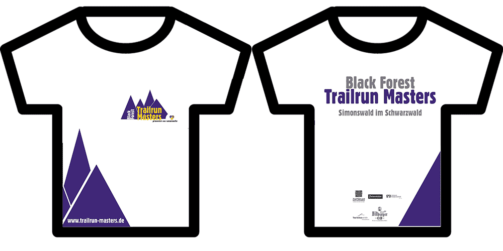 Black Forest trailrun Masters Shirt